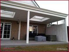 Afbeeldingsresultaat voor houten veranda met glazen dak Outside Room, Outdoor Living, Outdoor Decor, Pergola Patio, Outdoor Projects, Dream Garden, Garden Inspiration, Garden Design, Porch