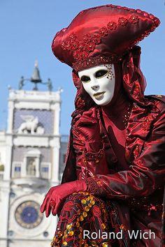 Venice Carnival | Roland Wich | Flickr