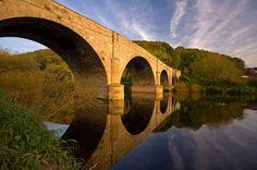 The village of Kerne Bridge. Wye Valley, Herefordshire