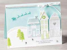 """""""stampin up holiday home"""" card - Google Search"""