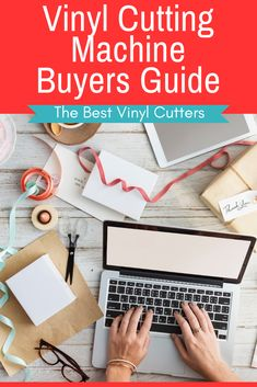 The best cutting machine 2019 buyers guide. In this vinyl cutting machine buying guide, we suggest you check out our chart to compare vinyl cutters, understand the different types of cutters to decide which are the best vinyl cutting machines for you. #bestcuttingmaching #vinylcuttingmachines Buy Vinyl, Cricut Vinyl, Vinyl Decals, Cricut Craft, Vinyl Craft Projects, Vinyl Crafts, Diy Projects, Vinyl Cutter Machine, Money Making Crafts