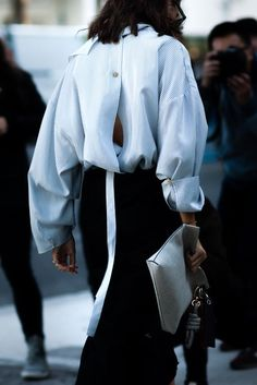 30 Inspiring ways to wear a Shirt | 30 manières inspirantes de porter un chemisier