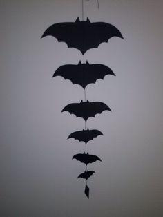 Bats, Halloween silhouettes, 2013