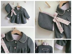 Chevalier Loulou - Page 4 - Chevalier Loulou Sewing Coat, Creation Couture, Liberty Fabric, Baby Makes, Liberty Of London, Inspiration For Kids, Baby Sewing, Little People, Kids Wear