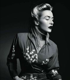 Kate Winslet by Patrick Demarchelier for Vogue Paris  #editorial #fashion #celeb