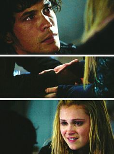Wow okay this was the moment I thought everything was gonna be better and maybe I could be happy again BUT NO BELLAMY HAD TO GO AND RUIN EVERYTHING. Bellamy baby please get your act together.