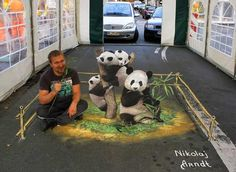 Collection of amazingly creative 3D street art works