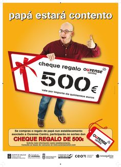 Campaña día del Padre Centro Comercial Aberto Ourense Centro  #Ourense #Díadelpadre