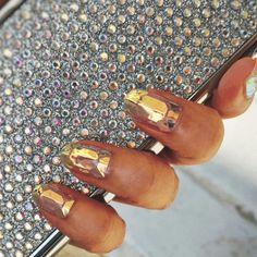 nail art glass #manucure #glassnails #vernis #tendance #beauté