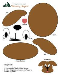 Dog Craft Link Daisy Ideas Pinterest Puppy Party Dog Themed