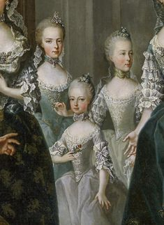 Tea at Trianon: The Family of Francis I and Maria Theresa Maria Theresia, Pregnancy Costumes, Francis I, Court Dresses, Best Portraits, Queen, Versailles, 18th Century, Royalty