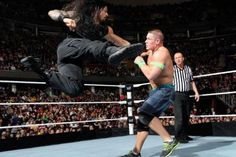 superman-punch Top 10 Moves of Roman Reigns 2016