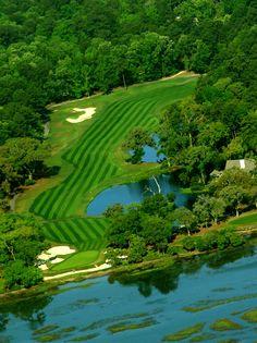 beautiful Tom Fazio course