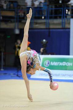 Maria Titova (Russia) /Grand Prix 2013 /Moscow.Russia