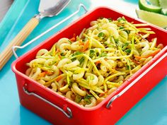 Duff's Curried Pasta Salad recipe from Food Network Kitchen via Food Network