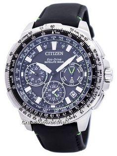 Citizen Eco-Drive Satellite Wave Promaster Navihawk GPS CC9030-00E Men s  Watch f2e0fe1690