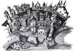Ilustrações que desafiam a realidade arquitetônica,Puerto de la Aldea Vieja. Image Courtesy of Juan Luis López