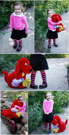 Book Character Halloween Costume: Emily Elizabeth of Clifford — Seeker of Happiness