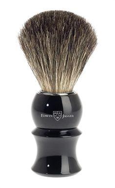 Edwin Jagger Imitation Ebony Shaving Brush