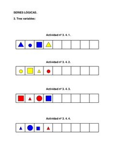 SERIES LÓGICAS.  3. Tres variables:  Actividad nº 3. 4. 1.  Actividad nº 3. 4. 2.  Actividad nº 3. 4. 3.  Actividad nº 3. 4. 4.