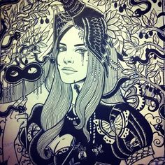 Marie Meier Art : Lana