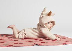 Oeuf NYC Unicorn Baby Alpaca Wool Burnou-Ethic fashion for kids, organic fashion for kids, mode bio enfant Baby Alpaca, Alpaca Wool, Fashion Kids, Stylish Kids, Pulls, Kids Outfits, Kids Rugs, Hoodies, Pink