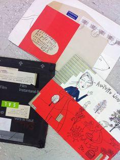 Lotta Jansdotter Mail Art