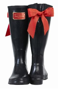 Tom Joules wellies. I can has?