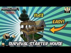 - Nederlands - In deze video geen redstone of ingewikkelde farms maar een idee van mij voor jouw eerste survival huis. Vond je de video leuk en/of vond je he... Modern Minecraft Houses, Survival, Minecraft Tutorial, Starter Home, Minecraft Stuff, House Inside, Seeds, Tutorials, Games