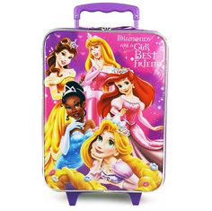 Disney Princess Pilot Case Rolling Luggage Carry on Approved * Read more reviews of the product by visiting the link on the image. (This is an Amazon Affiliate link and I receive a commission for the sales)