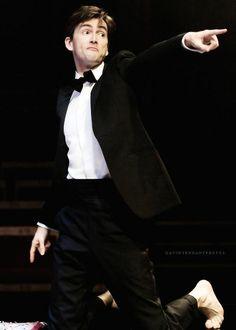 David as Hamlet