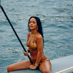 Rihanna...amazing, strong body