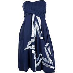 Women s Dallas Cowboys Painted Star Tube Dress - I so want this!!! Dallas 2338cea1e