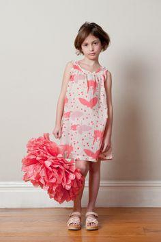 summer strawberry dress