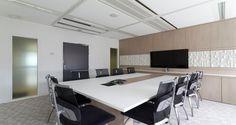 Sala de reuniões nos escritórios da Sony em Paris, França