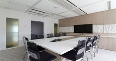 Meeting room into the premises of Sony in Paris, France