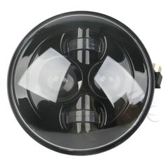 "66391 motorcycle-parts 7"" Motorcycle Black Projector Daymaker HID LED Light Bulb Headlight For Harley  BUY IT NOW ONLY  $84.51 7"" Motorcycle Black Projector Daymaker HID LED Light Bulb Headlight For Harley... Ebay Auction, Motorcycle Parts, Light Bulb, Led, Black, Black People, Lightbulbs, Lightbulb, Electric Light"