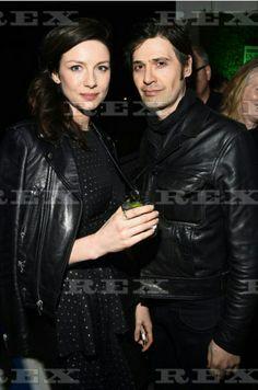 Cait with her special fella at the Oscar Wilde Awards 2/23/17 ∆Tony McGill