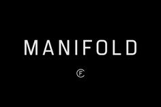 Manifold CF Utilitarian Sans Font by Connary Fagen Type Design on…
