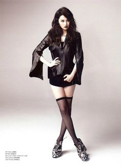 Gayoon posing in a photo shoot for Fast Magazine June Issue 2012.