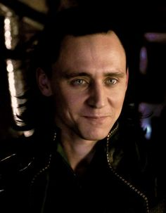 Beautiful Tom Hiddleston as Loki.