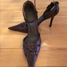 Aldo pumps Very nice brown Aldo pumps. Gently worn with plenty of life. ALDO Shoes Heels