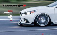 Mazda 3 BM Axela Lenzdesign Bodykit & Spoilers 2013 2014 2015 2016 2017 2018 Mazda 3 Hatchback, Mazda Miata, Car Tuning, Jeep, Cars Motorcycles, Cars, Motorbikes, Jeeps
