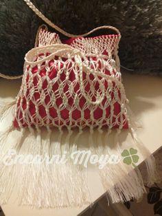 Bolso de flecos para flamenca.