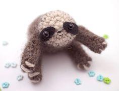 #animais #miniatura #crochê #bichopreguiça