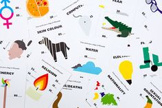 The World of 100 Postcards : Toby Ng Design