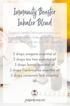 immunity booster essential oil inhaler blend As one of our best-selling blends, Total Defense Immunity Blend protects against environmental and seasonal threats with essential oils known for their positive effects on the immune system. Essential Oil Inhaler, Oregano Essential Oil, Essential Oils For Headaches, Chamomile Essential Oil, Frankincense Essential Oil, Essential Oil Diffuser Blends, Doterra Essential Oils, Immunity Essential Oils, Essential Ouls