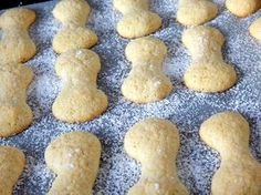 Babapiskóta recept Hungarian Recipes, Dessert Recipes, Desserts, Biscuits, Stuffed Mushrooms, Muffin, Sweets, Cookies, Baking