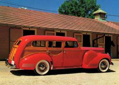 Packard- We had one of these in the 60's. It was fun-like a living room in the back seat. Dad sold it.