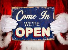 Holy cow, is it Christmas Eve already?! If you haven't completed your shopping yet, then this really truly is your last chance, before Christmas! But fear not, because we're open today from 10:00am to 3:00pm. If you still need to shop for the music lover or mobile electronics enthusiast on your list, then we're here for you. Get your last minute gifts at any of our four locations!